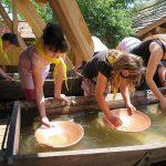 Výlet-rýžování zlata