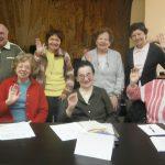 Účastníci kurzu Esperanto
